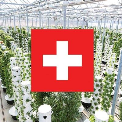 Tower Garden en Suisse